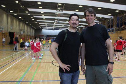 Andreas Schneider (links) und Teoman Öztürk