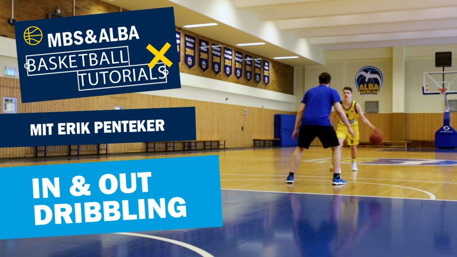 MBS & ALBA Basketball Tutorial: In and Out Dribbling