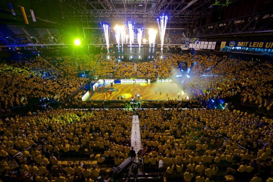 Eure Basketball-AG zu Gast in der Mercedes-Benz-Arena