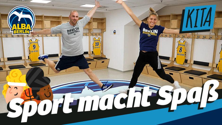 Neue digitale Sportstunden mit ALBA BERLIN