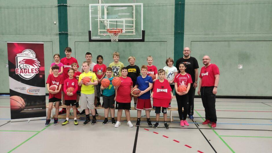 Herbstcamp in Rathenow: Basketball neu kennenlernen